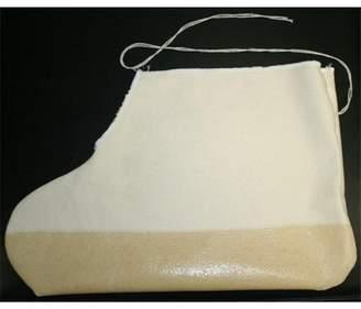 Indogem 45502L Drawstring Design Durable Cotton Canvas Boot & Shoe Cover, Natural - Large