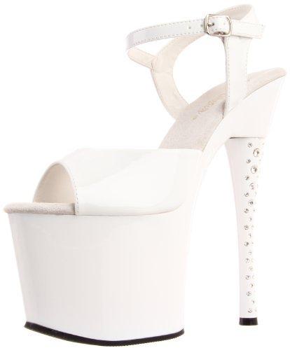 Pleaser USA Women's Diamond-709/W/M Platform Sandal