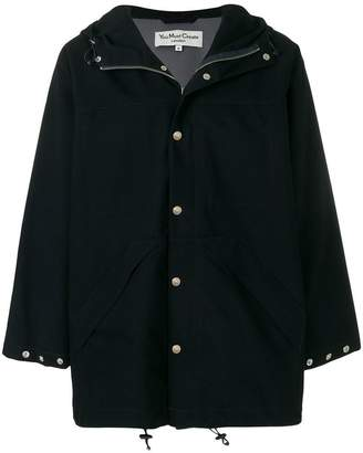 YMC hooded parka coat
