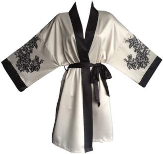 Sock Snob Ex M&S Rosie for Autograph Womens Thin Kimono Robe Night Gown in 8 sizes and 2 colours