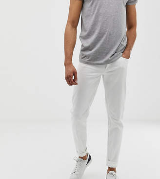 Asos Tall Slim Jeans In White