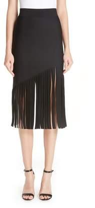 Cushnie et Ochs Marvella Fringe Hem Skirt
