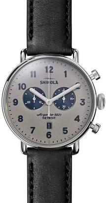 Shinola Canfield Watch, 43mm