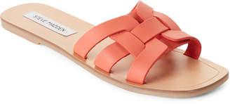 Steve Madden Coral Sicily Leather Slide Sandals