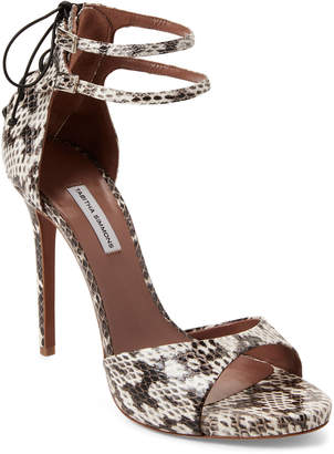 Tabitha Simmons Viva Leather Ankle Strap Pumps
