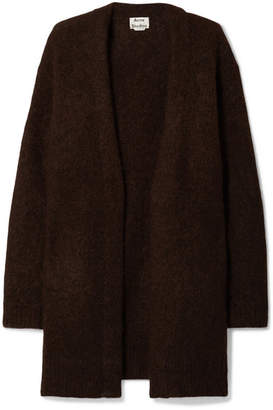 Acne Studios Raya Knitted Cardigan - Dark brown