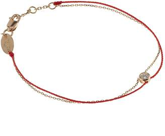 Redline Chain and Thread Pure Elegant Bracelet