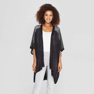 A New Day Women's Wrap Jacket Black