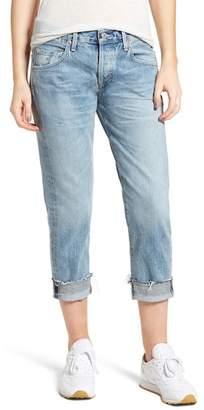 Citizens of Humanity Emerson Crop Slim Fit Boyfriend Jeans (Stax)