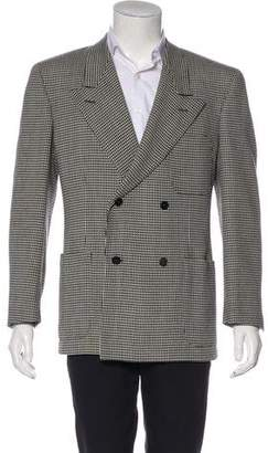 Gianni Versace Wool Double-Breasted Blazer