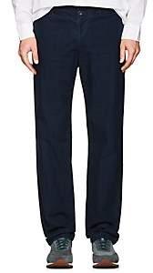 Morgan Eidos Men's Cotton-Blend Trousers - Lt. Blue
