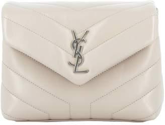 Saint Laurent Pink Leather Shoulder Bag