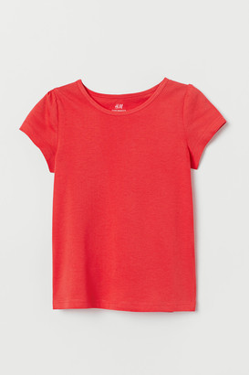 H&M Top with Puff Sleeves