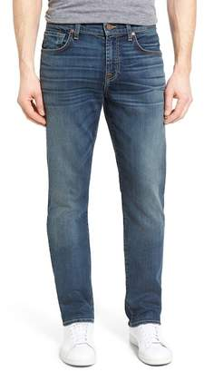 7 For All Mankind Straight Slim Straight Leg Jeans (Riptide)