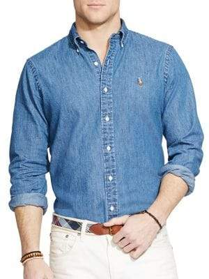 Polo Ralph Lauren Classic-Fit Denim Shirt