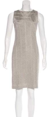 Ralph Lauren Black Label Metallic Knit Dress
