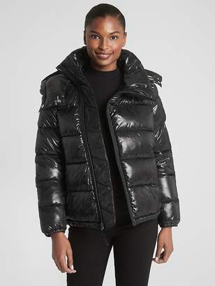 Gap High Shine Puffer Jacket