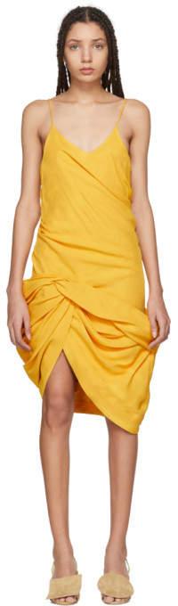 Yellow la Robe Coracao Dress