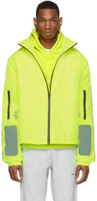 27438b14747 All In all in SSENSE Exclusive Yellow Astro Winter Jacket