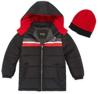 iXtreme Heavyweight Stripe Puffer Jacket - Boys-Preschool