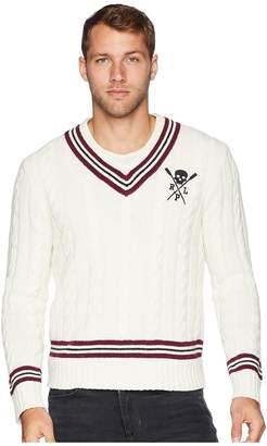 Polo Ralph Lauren Cotton Cashmere Cricket Cable Sweater Men's Sweater
