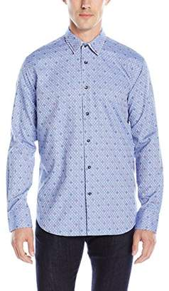 Bogosse Men's Rob 85 Long Sleeve Button Down Shirt