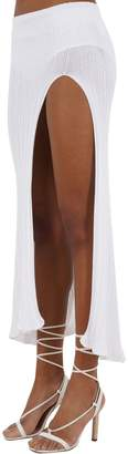 Jacquemus Long Knit Rib Skirt
