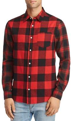 Buffalo David Bitton The Narrows Check Regular Fit Flannel Shirt - 100% Exclusive