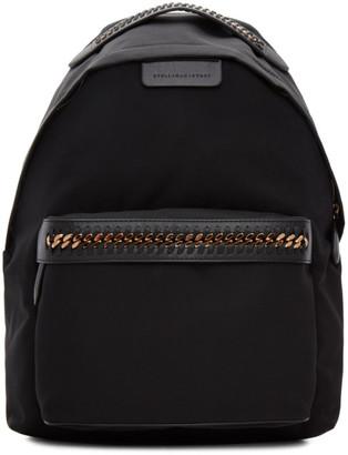 Stella McCartney Black Falabella GO Backpack $770 thestylecure.com