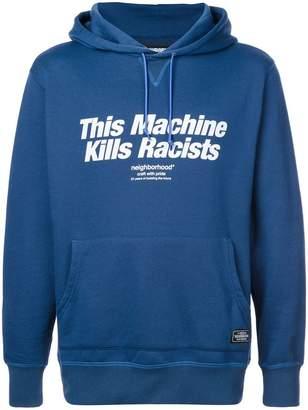 Neighborhood 'This Machine Kills Racists' hoodie