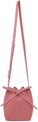 Mansur Gavriel Pink Suede Mini Mini Bucket Bag