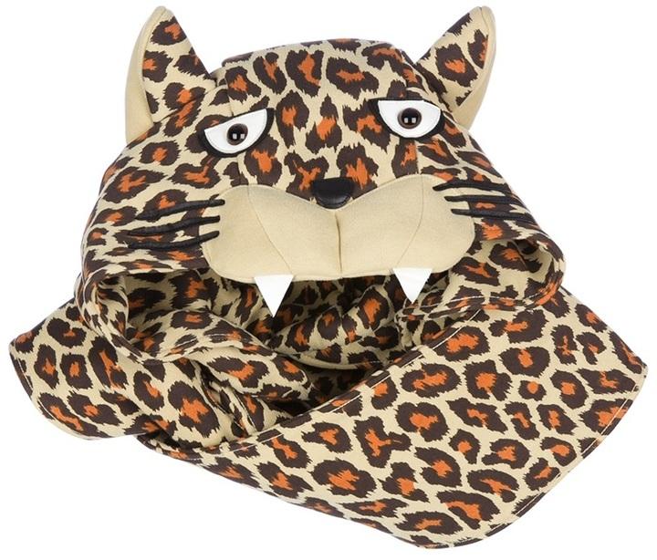 adidas leopard scarf