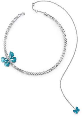GUESS Butterfly Charms Necklace