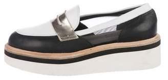 Baldinini Platform Leather Loafers