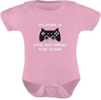 TeeStars - Player 3 Has Entered The Game - Gift Third Child Gamer Geek Gamer Baby Onesie 3-6 months