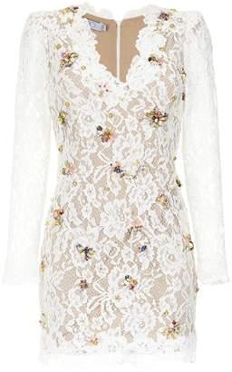 Patbo floral lace patterned dress
