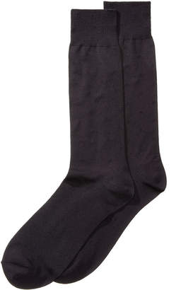 Perry Ellis Men's Microfiber Dress Socks