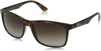 Ray-Ban Men's 0RB4232 Rectangular Sunglasses
