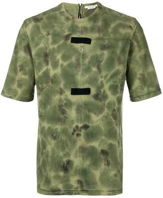 1017 ALYX 9SM tie-dye touch strap T-shirt