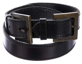 Dolce & Gabbana Leather Waist Belt