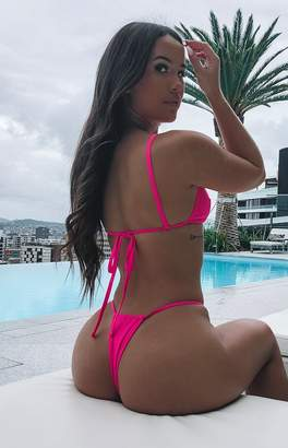 a3df7bd4ba at Beginning Boutique. 9.0 Swim Maui Bikini Bottoms Fluro Pink