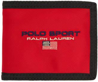 Polo Ralph Lauren Red Wallet