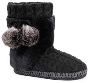 Muk Luks Women's Coralee Boot Slippers
