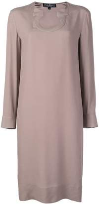 Salvatore Ferragamo Gancio neck dress