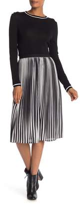 Eileen Fisher Ombre Pleat Skirt