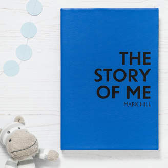 story. The leather diary and leather notebook company by Hope House Press Christening Gift Personalised Of Me