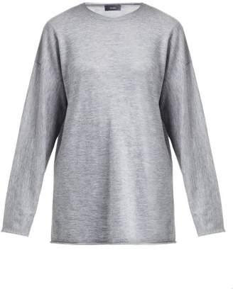 Joseph Oversized Cashmere Sweater - Womens - Grey
