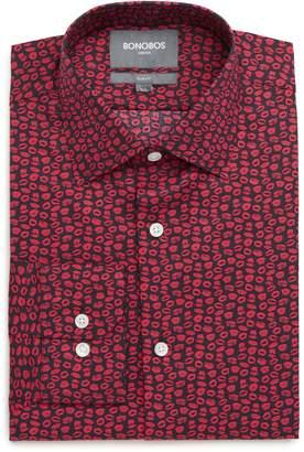 Bonobos XOXO Slim Fit Stretch Print Dress Shirt