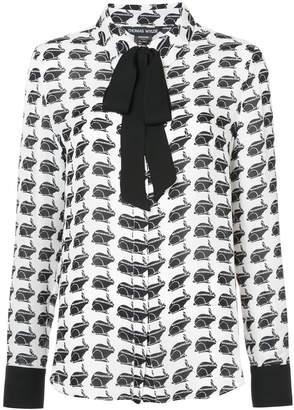 Thomas Wylde printed blouse