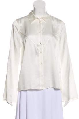 Kate Moss x Equipment Silk Button-Up Top w/ Tags